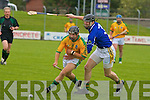 Kerry's Aidan Healy no.3 and Meath's Kevin Fagan no.29.   Copyright Kerry's Eye 2008