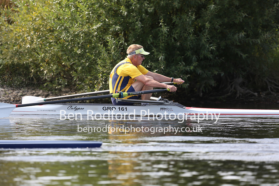 Race: 74  MasG.1x   [114]Grosvenor RC, Chester - GRO-McMahon  vs [115]Evesham RC - EVE-Pollard <br /> <br /> Ross Regatta 2017 - Monday<br /> <br /> To purchase this photo, or to see pricing information for Prints and Downloads, click the blue 'Add to Cart' button at the top-right of the page.