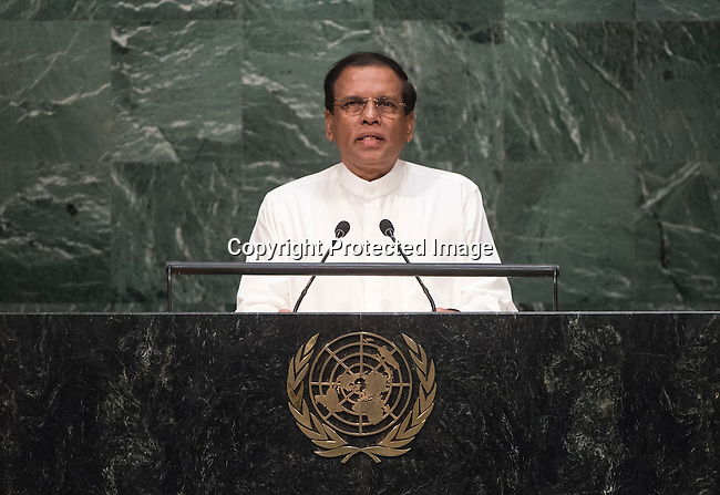 Address by His Excellency Maithripala Sirisena, President of the Democratic Socialist Republic of Sri Lanka