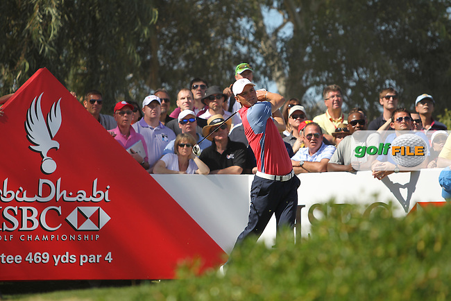 Martin Kaymer (GER) on the 6th during the second round at the Abu Dhabi HSBC Golf Championship in the Abu Dhabi golf club, Abu Dhabi, UAE..Picture: Fran Caffrey/www.golffile.ie.