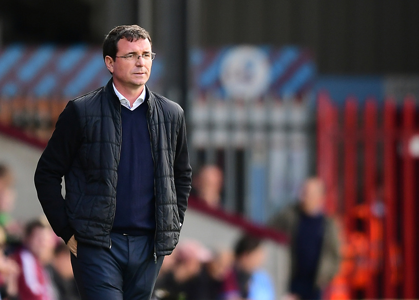 Blackpool manager Gary Bowyer<br /> <br /> Photographer Chris Vaughan/CameraSport<br /> <br /> The EFL Sky Bet League One - Scunthorpe United v Blackpool - Saturday 9th September 2017 - Glanford Park - Scunthorpe<br /> <br /> World Copyright &copy; 2017 CameraSport. All rights reserved. 43 Linden Ave. Countesthorpe. Leicester. England. LE8 5PG - Tel: +44 (0) 116 277 4147 - admin@camerasport.com - www.camerasport.com