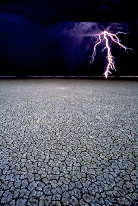 "LIGHTNING/WEATHER- COVER OF THE MUSIC ALBUM ""BLUE SKY MINING""<br />