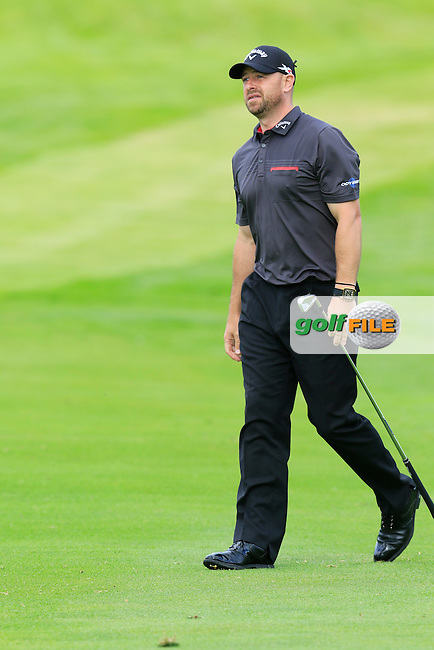 Craig Lee (SCO) on the 16th hole during Thursday's Round 1 of the 2016 Dubai Duty Free Irish Open hosted by Rory Foundation held at the K Club, Straffan, Co.Kildare, Ireland. 19th May 2016.<br /> Picture: Eoin Clarke | Golffile<br /> <br /> <br /> All photos usage must carry mandatory copyright credit (&copy; Golffile | Eoin Clarke)