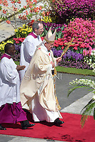 Easter Mass Pope Francis in St. Peter's Square, at the Vatican. 20 April 2014