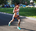 Ramona Sanchez heads to the finish line during the 51st Annual Journal Jog at Idlewild Park in Reno on Sunday, Sept. 8, 2019.