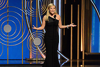 Reese Witherspoon presents the Cecil B. DeMille Award during the 75th Annual Golden Globe Awards at the Beverly Hilton in Beverly Hills, CA on Sunday, January 7, 2018.<br /> *Editorial Use Only*<br /> CAP/PLF/HFPA<br /> &copy;HFPA/PLF/Capital Pictures