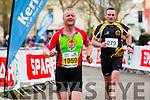 Damian Quigg and Ger O'Sullivan runners at the Kerry's Eye Tralee, Tralee International Marathon and Half Marathon on Saturday.