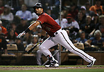 Images from a spring training game between the San Francisco Giants and the Arizona Diamondbacks in Scottsdale, Ariz., on Wednesday, March 21, 2018. <br /> Photo by Cathleen Allison/Nevada Momentum