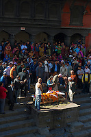 Pashupati Templs and cremation area Kathmandu, Nepal