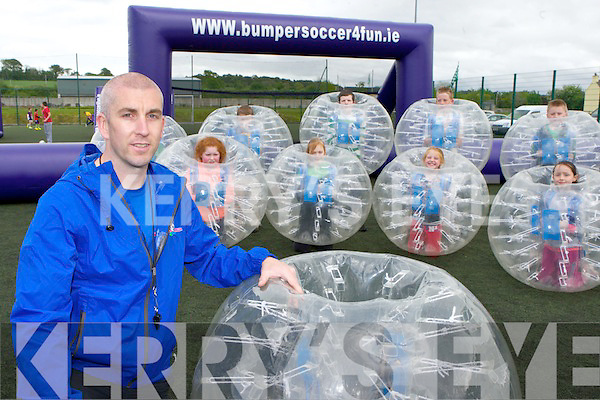 Brian Spillane Killarney who has started bumpersoccer4fun for schools and clubs