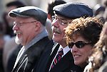 Nevada State Director of Cultural Affairs Michael Fischer during Monday's inauguration, Jan. 3, 2011 at the Capitol in Carson City, Nev. Assemblyman Randy Kirner, R-Reno, is at left. <br /> Photo by Cathleen Allison