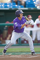 TCU's Pena, Jerome 2164.jpg against Florida State at the College World Series on June 23rd, 2010 at Rosenblatt Stadium in Omaha, Nebraska.  (Photo by Andrew Woolley / Four Seam Images)