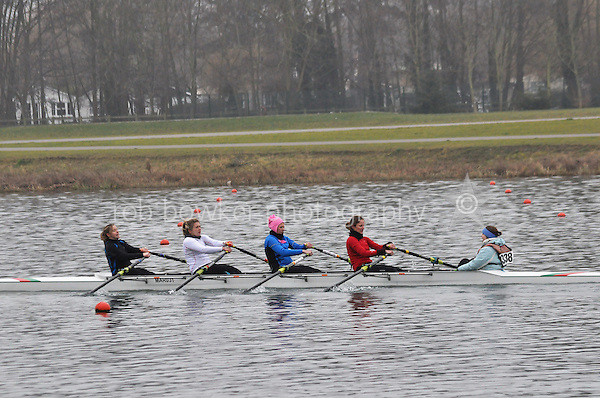 338 Marlow RC W.IM3.4x+..Marlow Regatta Committee Thames Valley Trial Head. 1900m at Dorney Lake/Eton College Rowing Centre, Dorney, Buckinghamshire. Sunday 29 January 2012. Run over three divisions.