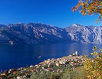 Italy, Lombardy, Lake Garda, Malcesine
