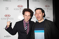 Josh Sussman, Chris Bergoch<br /> KIA SUPPER SUITE BY STK hosts a cast dinner for films, THE OVERNIGHT, TANGERINE & ANIMALS, Handle Restaurant and Bar, Park City, UT 01-24-15<br /> David Edwards/DailyCeleb.com 818-915-4440