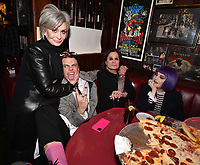 "HOLLYWOOD - FEBRUARY 20: Sharon Osbourne and Kelly Osbourne attend Ozzy Osbourne global tattoo and album listening party to celebrate his new album ""Ordinary Man"" on February 20, 2020 in Hollywood, California. (Photo by Lionel Hahn/Epic Records/PictureGroup)"