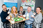 Thomas Foley, Pyro, Catriona de Groot Sasta, Melanie Harty Hartys, Tomas Bruic Dingle Farm and Sophie Lowe Pyro at the launch of the Food academy Programme at the Kerry food Hub on Wednesday