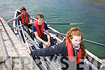 Michael Scanlon, Maherees, Brendan Walsh, Liscarney, Katelyn Brown, Maherees at the Maherees Regatta on Sunday
