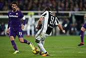 9th February 2018, Stadio Artemio Franchi, Florence, Italy; Serie A football, ACF Fiorentina versus Juventus; Gonzalo Higuain of Juventus shoots and scores a goal in the 41st minute