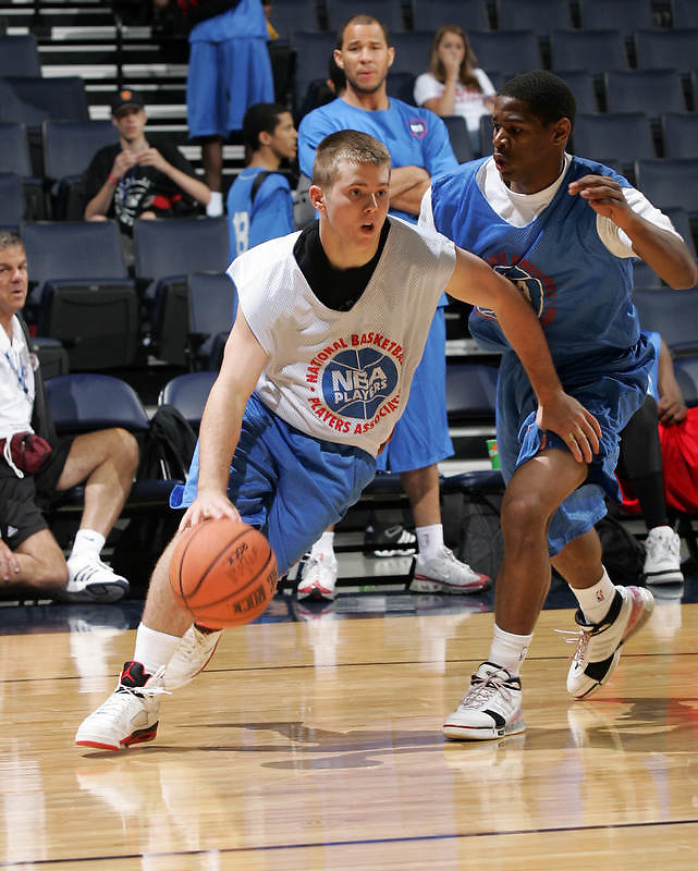 PG Keiton Page (Pawnee, OK / Pawnee) moves the ball during the NBA Top 100 Camp held Saturday June 23, 2007 at the John Paul Jones arena in Charlottesville, Va. (Photo/Andrew Shurtleff)