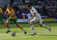 Pictured: Gorka Pintado of Swansea City in action <br /> Re: Coca Cola Championship, Swansea City FC v Norwich City FC at the Liberty Stadium Swansea, south Wales. Saturday 11 April 2009.<br /> Picture by D Legakis Photography / Athena Picture Agency, Swansea 07815441513
