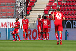 Jubel Mainz nach dem 3:1<br /> <br /> <br /> Sport: nphgm001: Fussball: 1. Bundesliga: Saison 19/20: 33. Spieltag: 1. FSV Mainz 05 vs SV Werder Bremen 20.06.2020<br /> <br /> Foto: gumzmedia/nordphoto/POOL <br /> <br /> DFL regulations prohibit any use of photographs as image sequences and/or quasi-video.<br /> EDITORIAL USE ONLY<br /> National and international News-Agencies OUT.