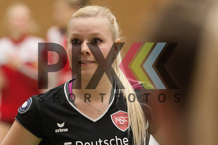Koepenicks Anna Pogany <br /> <br /> 05.12.2015 Volleyball Frauen 1. Bundesliga Koepenicker SC Berlin  - Schweriner SC <br /> <br /> Foto &copy; PIX-Sportfotos *** Foto ist honorarpflichtig! *** Auf Anfrage in hoeherer Qualitaet/Aufloesung. Belegexemplar erbeten. Veroeffentlichung ausschliesslich fuer journalistisch-publizistische Zwecke. For editorial use only.