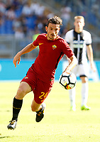 Calcio, Serie A: Roma vs Udinese. Roma, stadio Olimpico, 23 settembre 2017.<br /> Roma&rsquo;s Alessandro Florenzi in action during the Italian Serie A football match between Roma and Udinese at Rome's Olympic stadium, 23 September 2017. Roma won 3-1.<br /> UPDATE IMAGES PRESS/Riccardo De Luca