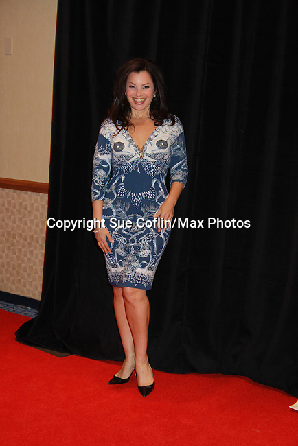 Fran Drescher at Rosie's Building Dreams for Kids Gala benefitting Rosie's Theater Kids on September 19, 2011 at New York Marriott Marquis, New York City, New York. (Photo by Sue Coflin/Max Photos)