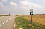 Highway 50 sign