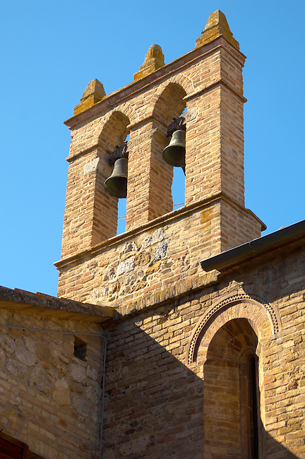 Medieval Bell Tower - San Gimignono Italy.