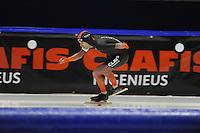 SCHAATSEN: HEERENVEEN; 11-10-2014, IJstadion Thialf, KNSB Trainingswedstrijd, Arjan Stroetinga, ©foto Martin de Jong