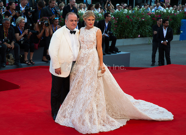 Hofit Golan, Pascal Vicedomini  at the premiere of Nocturnal Animals at the 2016 Venice Film Festival.<br /> September 2, 2016  Venice, Italy<br /> CAP/KA<br /> &copy;Kristina Afanasyeva/Capital Pictures /MediaPunch ***NORTH AND SOUTH AMERICAS ONLY***