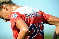 Boyds, MD - Saturday August 12, 2017: Estelle Johnson during a regular season National Women's Soccer League (NWSL) match between the Washington Spirit and The Boston Breakers at Maureen Hendricks Field, Maryland SoccerPlex.