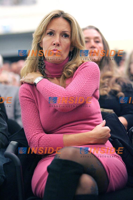 """MANUELA REPETTI.Roma 26/10/2010.Dibattito dal titolo """"In difesa della libertà di stampa: due pesi, due misure?.Photo Samantha Zucchi Insidefoto"""