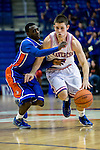 Texas-Arlington Mavericks guard Drew Charles (4) in action during the game between the Houston Baptist Huskies and the Texas-Arlington Mavericks at the College Park Center arena in Arlington, Texas. UTA defeats Houston Baptist 81 to 47...