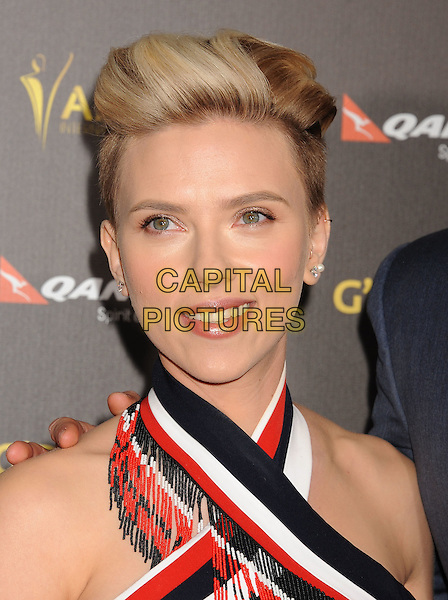 LOS ANGELES, CA - JANUARY 31: Actress Scarlett Johansson attends the 2015 G'Day USA Gala featuring the AACTA International Awards presented by Qantas at Hollywood Palladium on January 31, 2015 in Los Angeles, California.<br /> CAP/ROT/TM<br /> &copy;TM/ROT/Capital Pictures