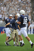 06 September 2014:  The Penn State Nittany Lions defeated the Akron Zips 21-3 at Beaver Stadium in State College, PA.