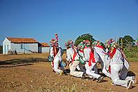 Festa Marujada no Quilombo Mangal e Barro Vermelho, municipio Sitio do Mato. Bahia. 2015. Foto de Lineu Kohatsu.