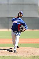 David Perez - Texas Rangers - 2010 Instructional League.Photo by:  Bill Mitchell/Four Seam Images..