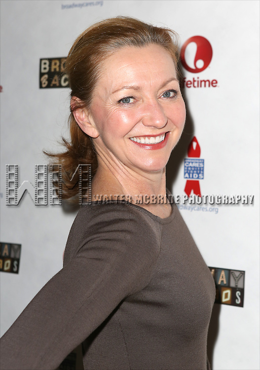 "Julie White attends the ""Broadway Backwards"" After Party Reception  at John's Restaurant on March 24, 2014 in New York City."