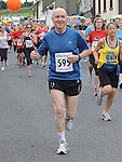 Drogheda Independent's Pat Gough running in the Clogherhead 10k. Photo: Colin Bell/pressphotos.ie