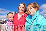 Shanon Foley, Sarah O'Connor and Michelle Joy, Killorglin pictured at Glenbeigh Races at Rossbeigh Beach on Sunday.