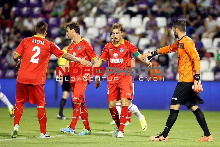 Getafe's Rafa (c) during La Liga match.August 31,2013. Foto © nph / Victor Blanco)