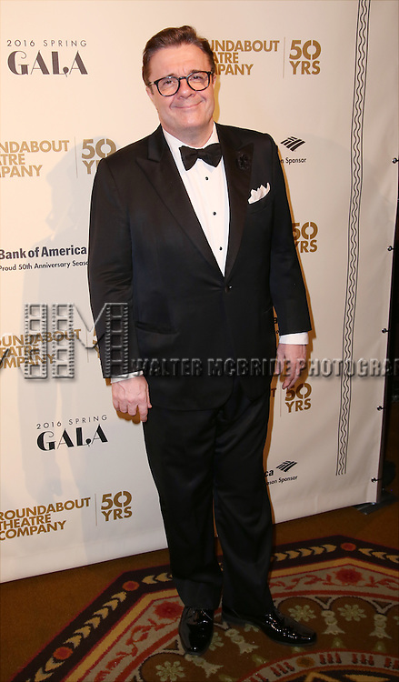 Nathan Lane attends the Roundabout Theatre Company's  50th Anniversary Gala at The Waldorf-Astoria on February 29, 2016 in New York City.