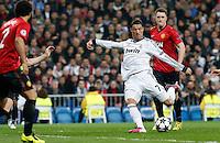 Real Madrid's Cristiano Ronaldo during Champions League 2012/2013 match.February 12,2013. (ALTERPHOTOS/Alfaqui/Alex Cid-Fuentes)