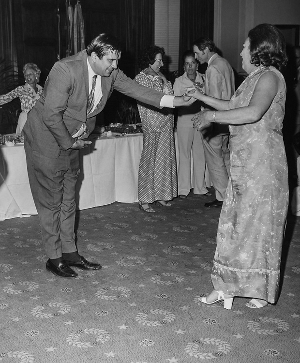 Congressional aide Hyde Murray at an dancing hall. (Photo by CQ Roll Call via Getty Images)