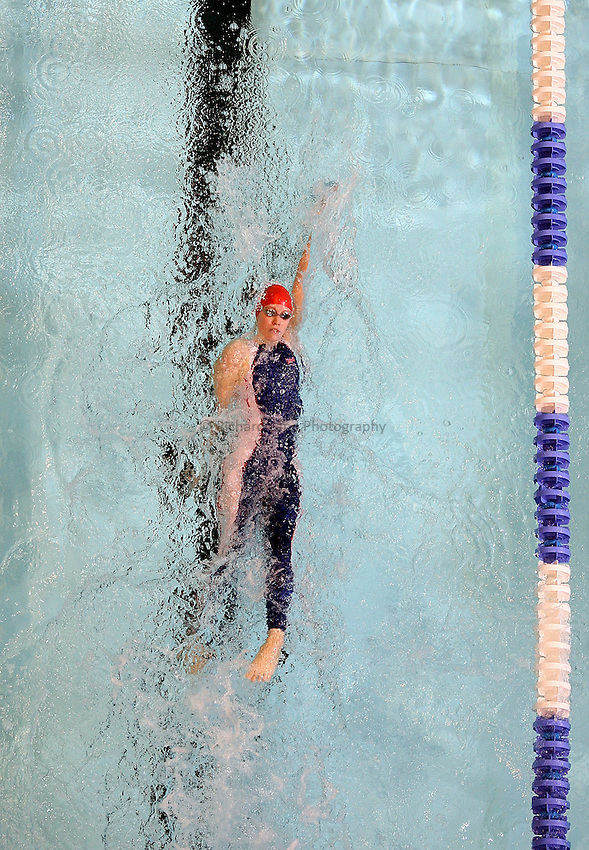 Photo: Paul Thomas..VISA Paralympic World Cup 2007. Swimming. 12/05/2007...Emma Cattle of Great Britain.