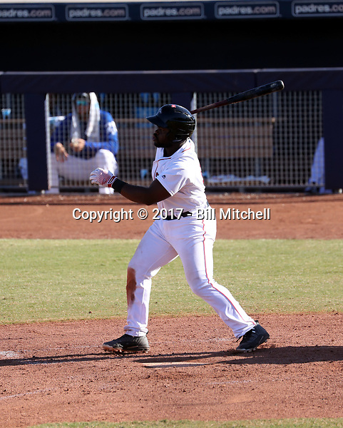 Josh Tobias - Peoria Javelinas - 2017 Arizona Fall League (Bill Mitchell)