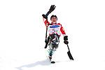 Momoka Muraoka (JPN), <br /> MARCH 14, 2018 - Alpine Skiing : <br /> Women's Giant Slalom Sitting Flower Ceremony <br /> at Jeongseon Alpine Centre  <br /> during the PyeongChang 2018 Paralympics Winter Games in Pyeongchang, South Korea. <br /> (Photo by Sho Tamura/AFLO SPORT)